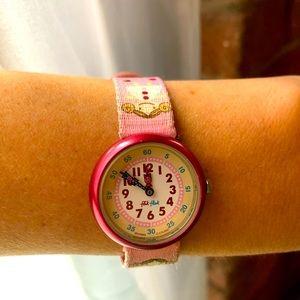 💎 Vintage Swatch Flik Flak girls watch.